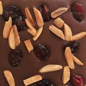 Almond & Cranberry Milk Chocolate Bar