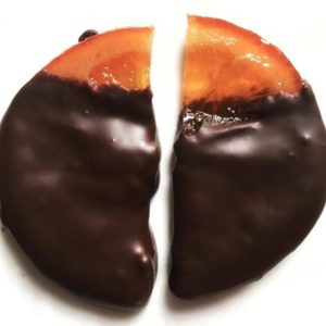 Orange Slices In Chocolate