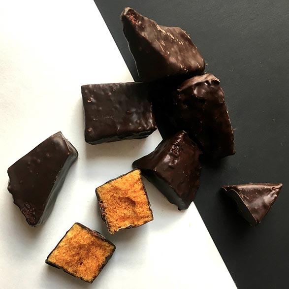 Salted Maple Sponge Toffee Dark Chocolate
