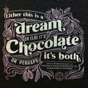 Shakespeare Chocolate T-shirt